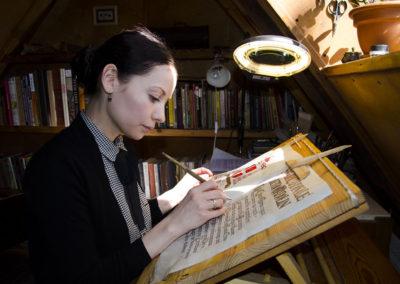 Tatiana Iakovleva calligraphy