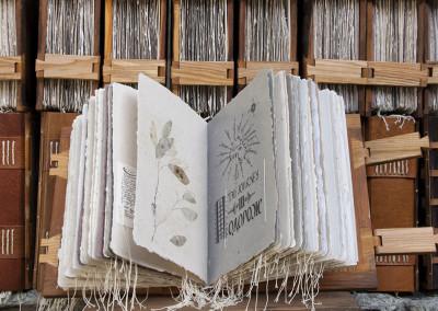 the hustsuls handmade letterpress printed book