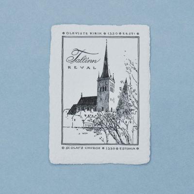 Oleviste kirik postkaart