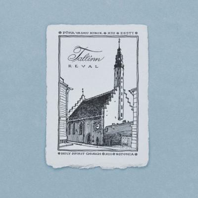 Pühavaimu kirik postkaart