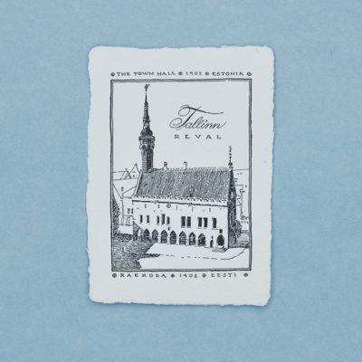 Tallinna raekoda Postkaart