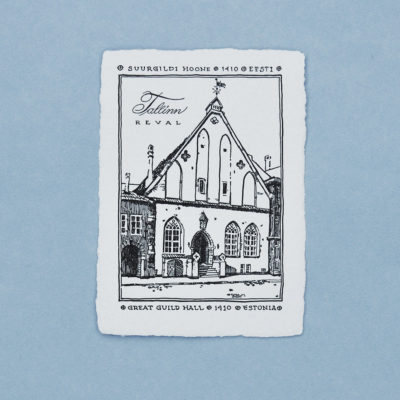 Suurgildi hoone Postkaart