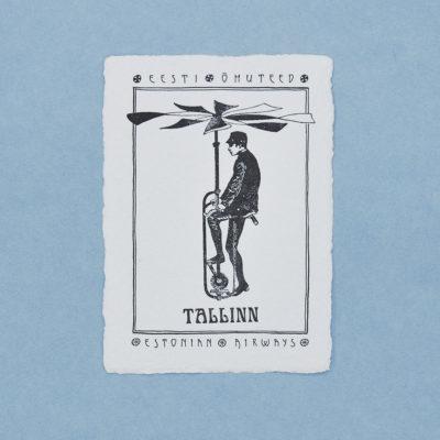 Eesti õhuteed postkaart