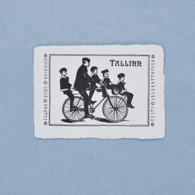 Eesti jalgrattateed Postkaart