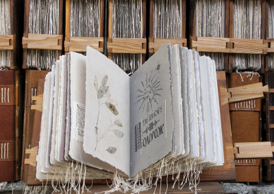 the hustsuls handmade letterpress printed book