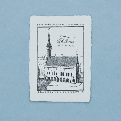 The Town Hall Postcard
