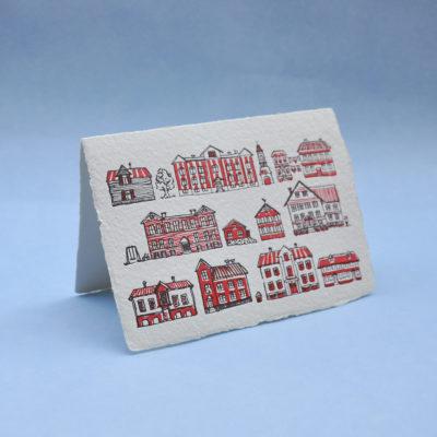 Kalamaja Postcard Greeting Card