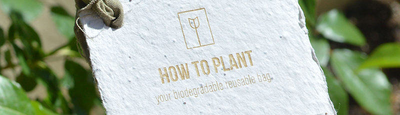 Biodegradable Reusable Bag by Nikolas