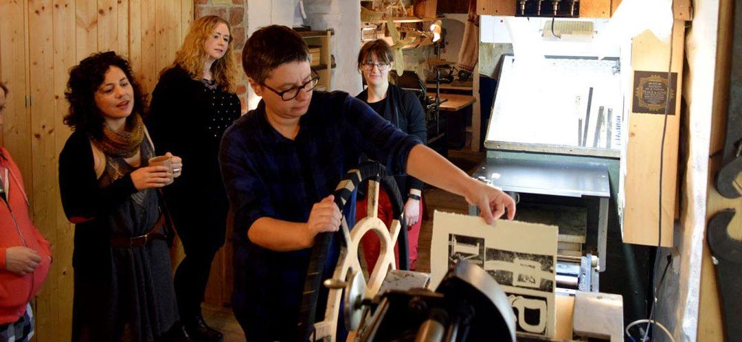 Letterpress Workshops Inside Historic Walls