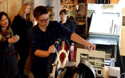 Letterpress Workshops Inside Historic Walls